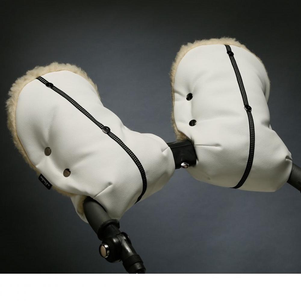 White Merino Doudle (эко-кожа)