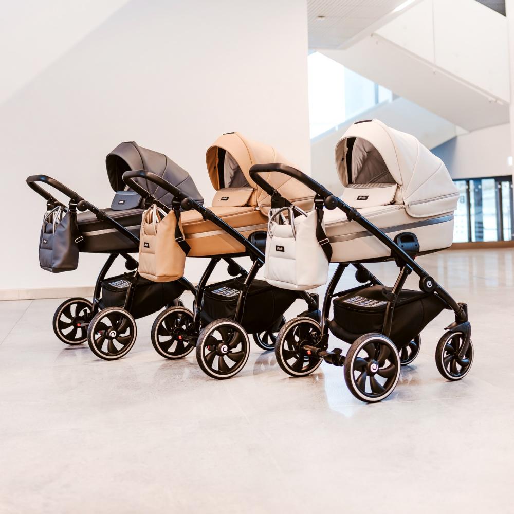 Детская коляска Tutis Uno + Leather комплектация