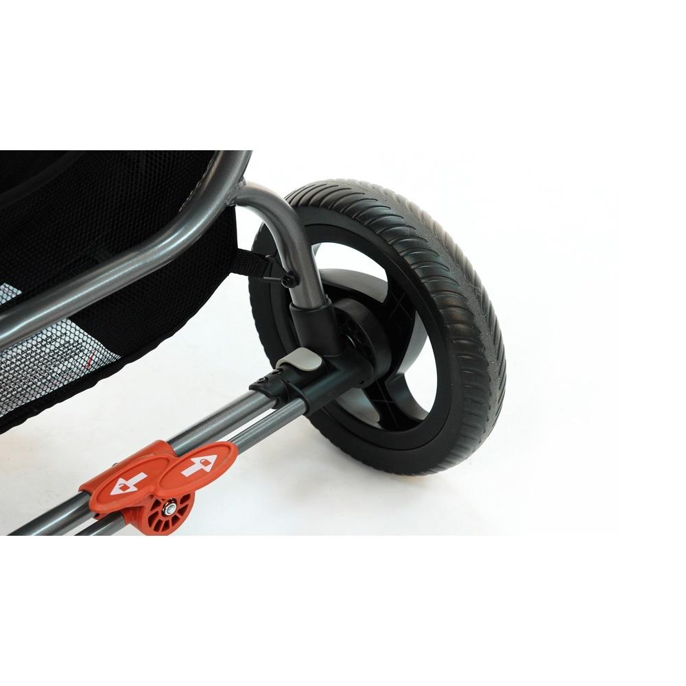 Постановка и снятие с тормоза не повредит обувь