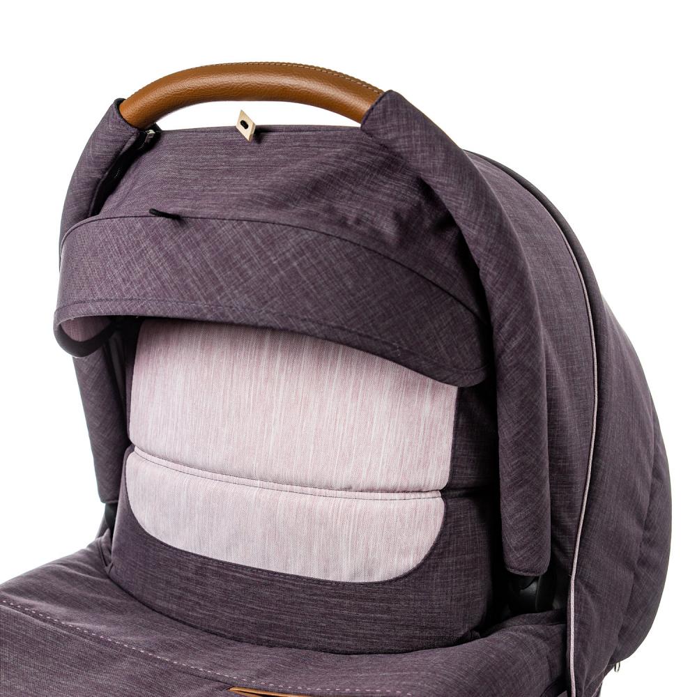 В случае непогоды ребенка в люльке можно укрыть