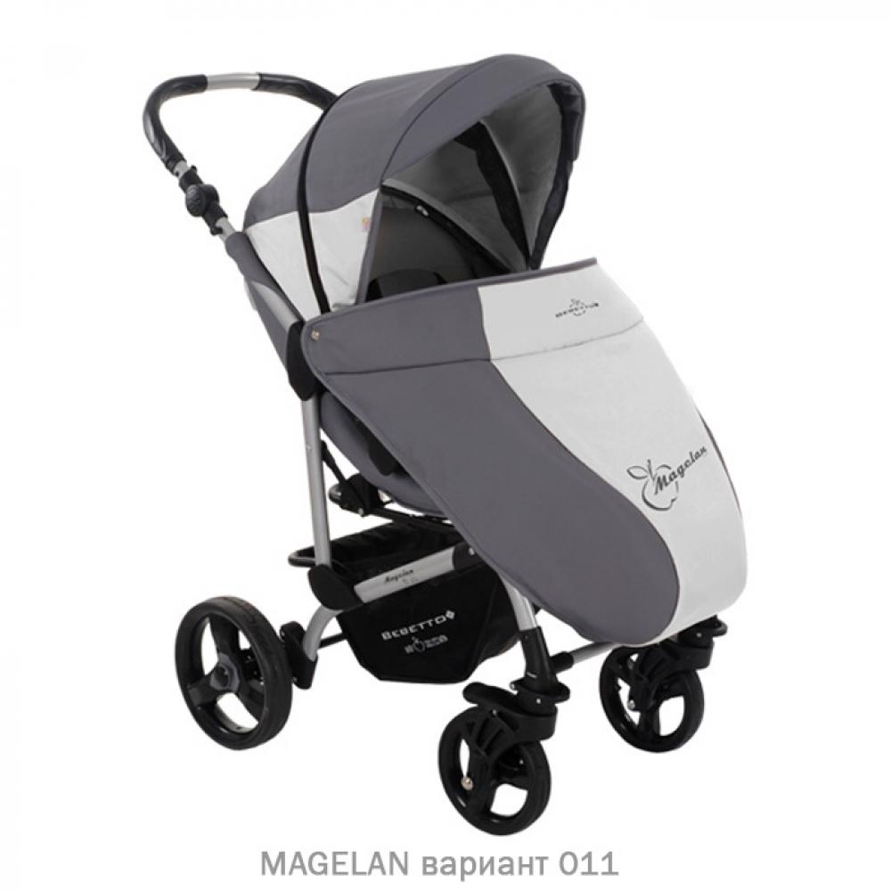 Прогулочная коляска MAGELAN. Цвет 011 (серый)