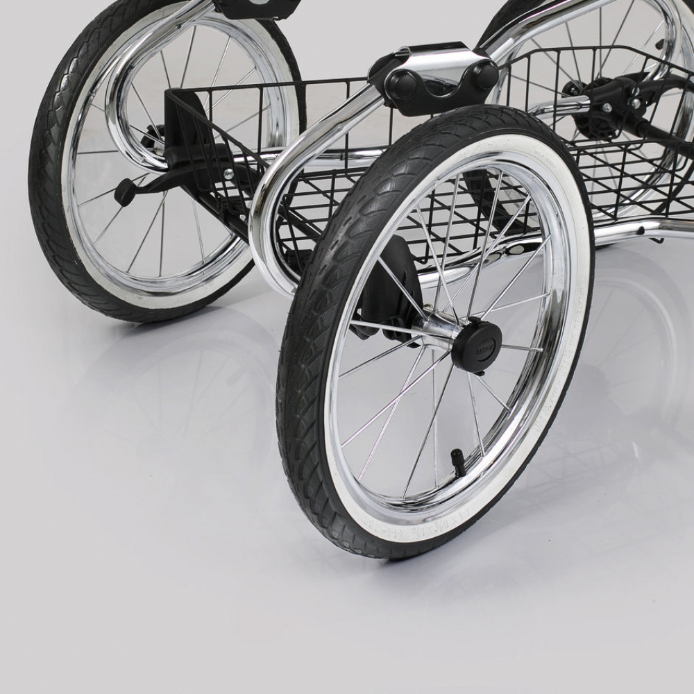 Navington Caravel: поворотные колеса