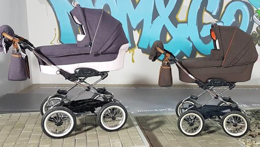 Надувные или ненадувные колеса на коляске?