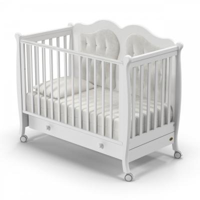 Кроватка на колесиках Affetto 120x60