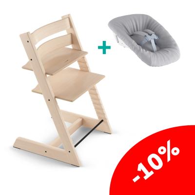 Комплект Stokke Tripp Trapp + сиденье New Born
