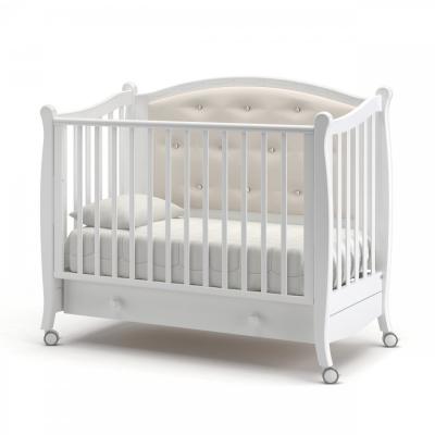Кроватка на колесиках Жанетт 120x60