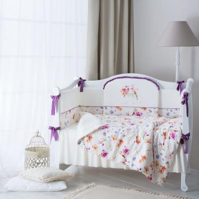 Комплект детского постельного белья Акварель