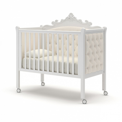 Кроватка на колесиках Лиона 120x60