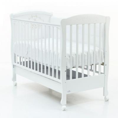 Кроватка на колесиках Infant с ящиком 120x60