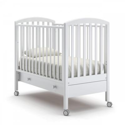 Кроватка на колесиках Дени с ящиком 120x60