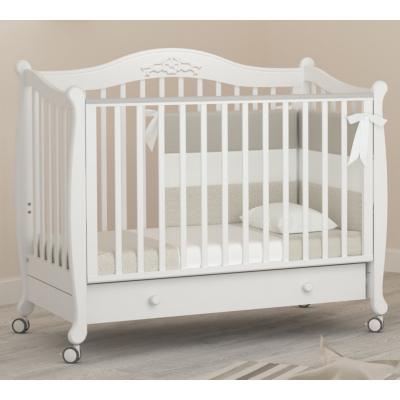 Кроватка на колесиках Моника 120x60