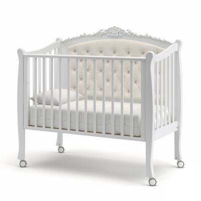 Кроватка на колесиках Жанетт new 120x60