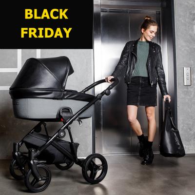 Детская коляска Zille 2 в 1 Black