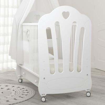 Кроватка на колесиках Стефани 120x60