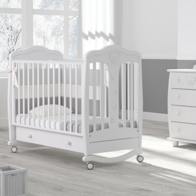 Кроватка-качалка Мишель 120x60