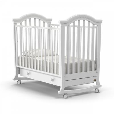 Кроватка-качалка Perla dondolo 120x60