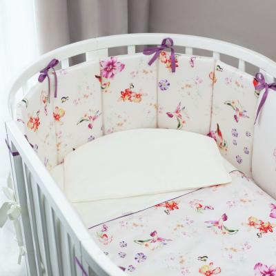 Комплект детского постельного белья Акварель Oval