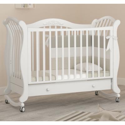 Кроватка на колесиках Габриэлла люкс 120x60