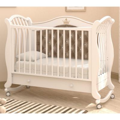 Кроватка на колесиках Габриэлла Люкс Плюс 120x60
