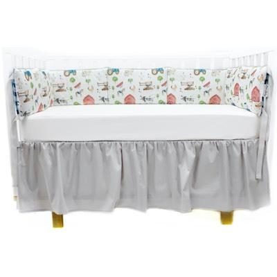 Бортик в кроватку Mom'Story Design